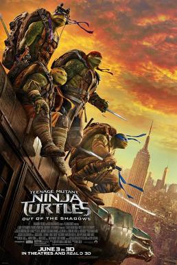Teenage Mutant Ninja Turtles Out of the Shadows (2016) เต่านินจา จากเงาสู่ฮีโร่