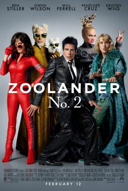 Zoolander 2 (2016) ซูแลนเดอร์ เว่อร์วังอลังการ